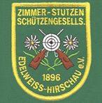 """Zimmerstutzen Schützengesellschaft """"Edelweiss"""" 1896 Hirschau e.V."""